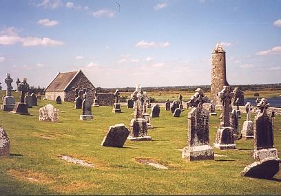 Clonmacnoise, le plus ancien et le plus célèbre des monastères irlandais